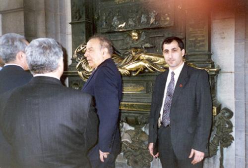 Visit of President of Azerbaijan Brussels, Belgium in 1996